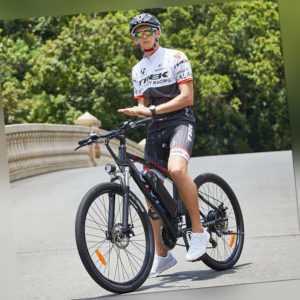 Elektrofahrrad Mountainbike E-bike 27.5 Zoll Ebike 500W Shimano Pedelec 21-Gänge