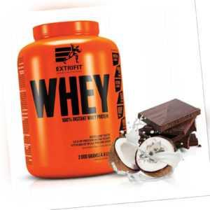 Extrifit Whey Protein 2 kg Schoko-Kokos Eiweiß Pulver Aminosäuren Muskelaufbau