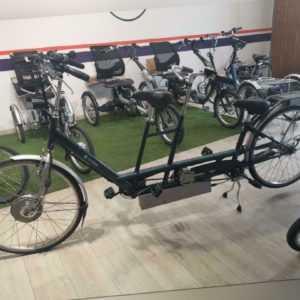 Van Raam Twinny Therapeutisches Elektro Fahrrad Tandem Neue Akkus
