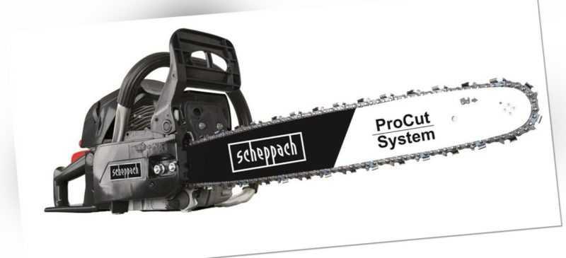 Scheppach CSH56 Benzin Kettensäge Motorsäge Motorkettensäge 51cm 3,1PS 2,3KW