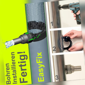 Regensammler Regenwassersammler Füllautomat Easy Fix