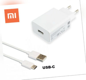 Original Xiaomi Schnell Ladegerät USB-C Ladekabel Mi Redmi Note 8 9 10 Lite Pro