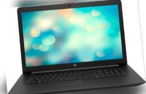 HP 17,3 Zoll Notebook 17-ca2216ng 8GB RAM 2TB HDD AMD Athlon DVD schwarz B-WARE