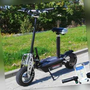 RETOURE Elektro Scooter 800 Watt E-Scooter Roller 36V/800W Elektroroller Neu
