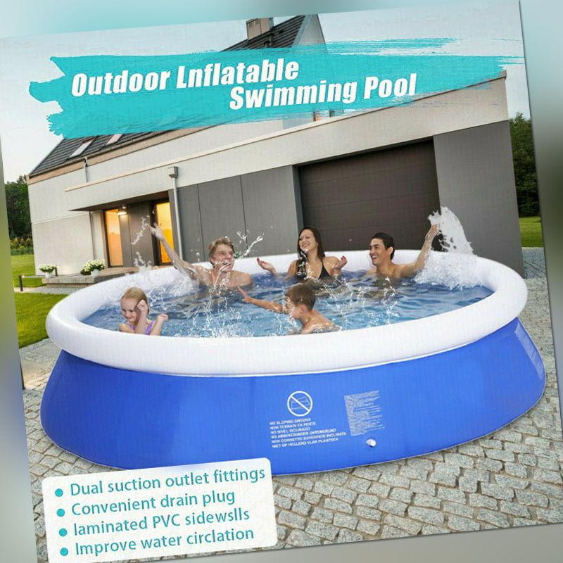 Pool Schwimmbecken Planschbecken Swimmingpool Gartenpool Schwimmbad 300 x 67cm