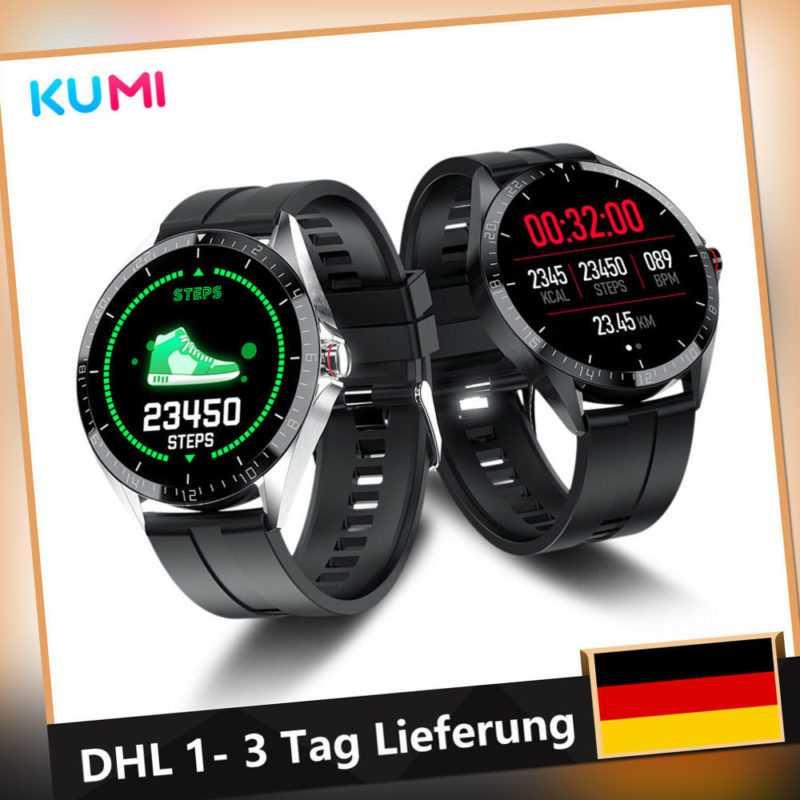 KUMI GW16T Xiaomi Smartwatch Fitness Tracker Bluetooth Blood Oxygen Heart Rate