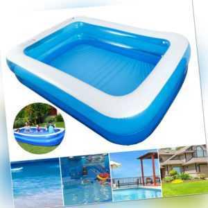 Schwimmbecken Planschbecken Kinderpool Swimmingpool Pool Becken Aufblasbar W