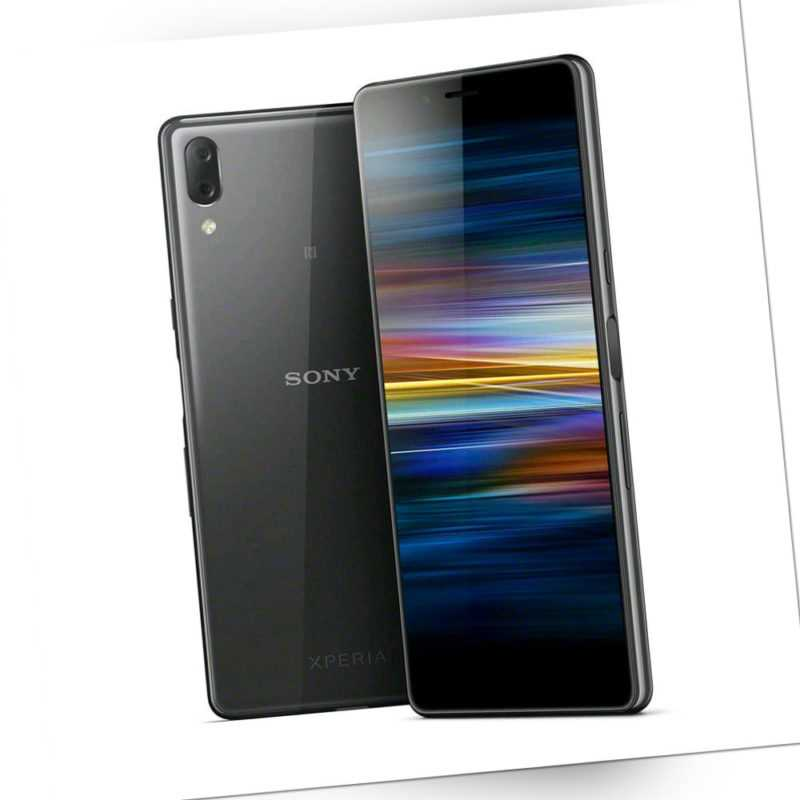 """Sony Xperia L3 DualSim schwarz 32 GB LTE 4G Android Smartphone Handy 5,7"""" 13 MPX"""