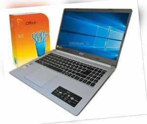 """ACER Laptop 15,6"""" ~ AMD 3050u~ 8GB~ SSD~ Full HD~ Win 10S~ Office 365"""