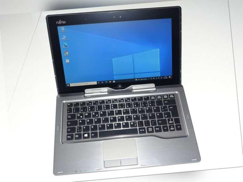 Fujitsu STYLISTI Q702 11,6 Zoll, Intel Core i3, SSD 128GB Tablett Notebook