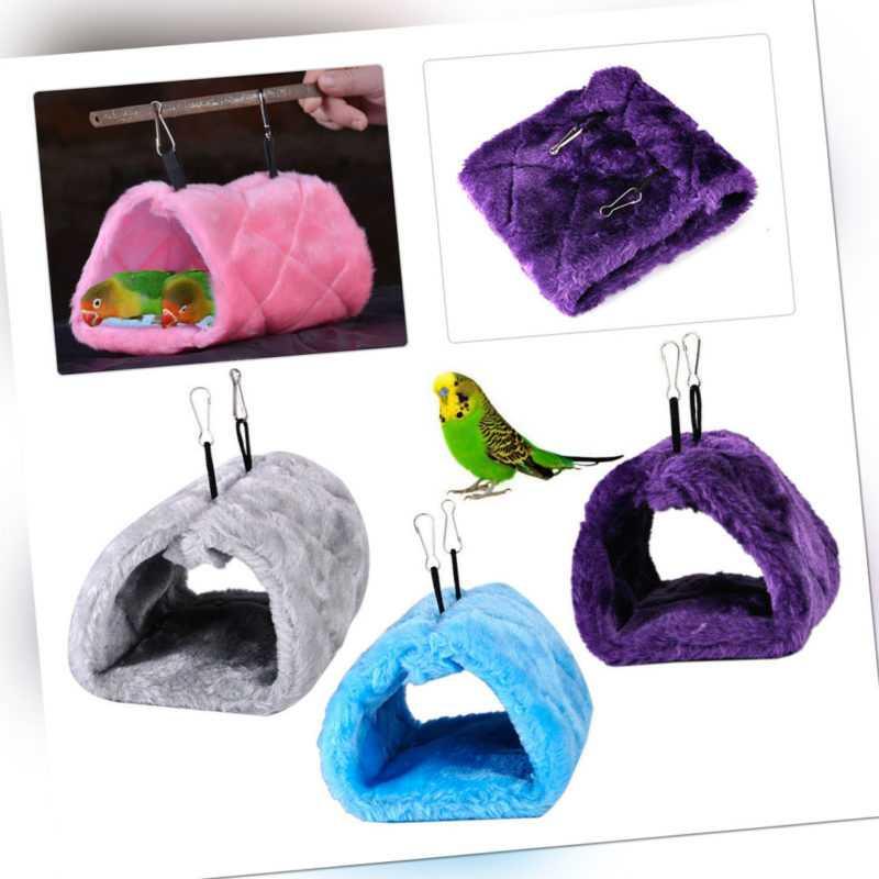 Vogelspielzeug Schaukel Box Hängematte Papagei Nest Hütte Vogelhaus er c