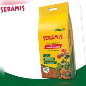 Seramis 15 Liter Pflanz-Granulat für Zimmerpflanzen | ersetzt Blumenerde