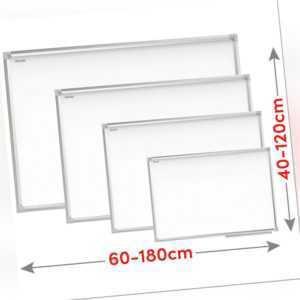 Whiteboard Magnettafel Weiß Magnetisch Trocken Abwischbar Memoboard Schreibtafel