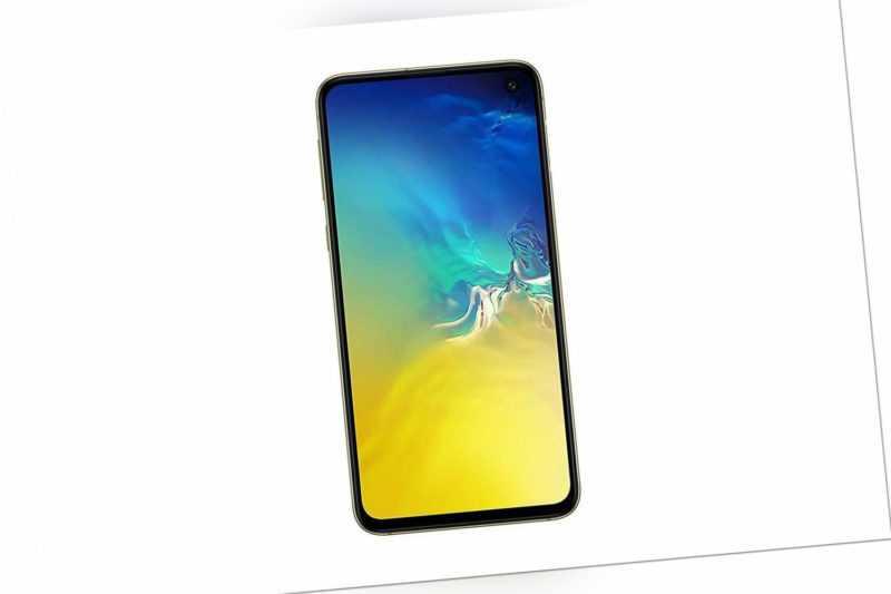 Samsung Galaxy S10e Android LTE Smartphone ohne Simlock 128GB 5,8...