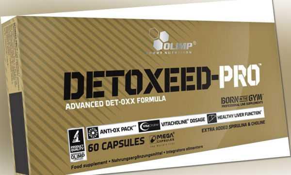 Olimp Detoxeed-Pro - 60 Kapseln mit Antioxidantien
