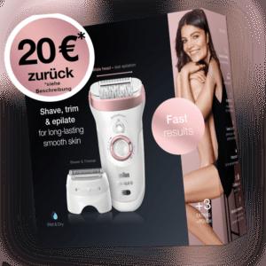 Braun Silk-épil 9-720 Wet & Dry Epilierer Neu und OVP