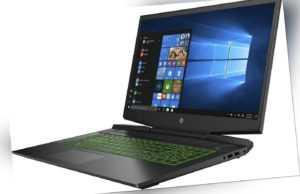 HP Pavilion Gaming 17-cd1255ng 17,3 Zoll 512 GB SSD Core i5-10 GTX1650Ti B-WARE