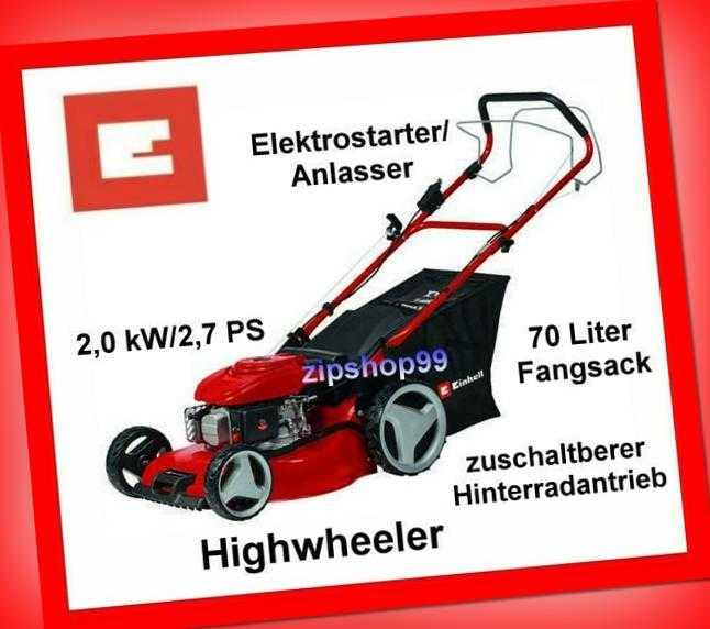 Benzin-Rasenmäher Einhell GC-PM 46/4 S HW-E Rasenmäher B-Ware