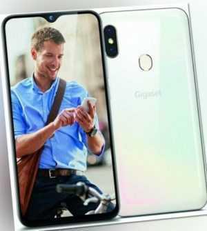 Gigaset GS290 64GB [Dual-Sim] pearl white [OHNE SIMLOCK] WIE NEU
