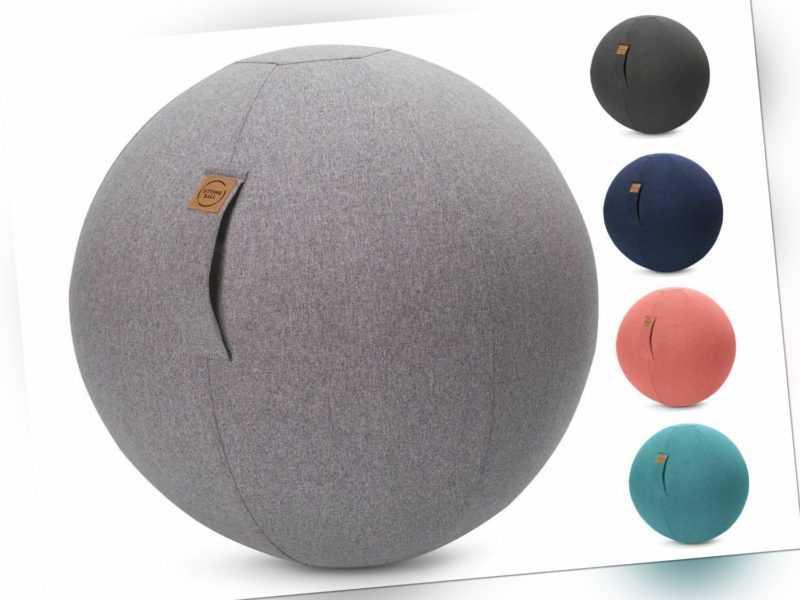 Sitzball Gymnastikball Fitnessball Sportball Sitting Ball FELT B-Ware