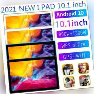 10,1 Zoll Android 11 5G Tablet PC 10 + 512G Octa Core Kamera Wifi GPS Dual SIM
