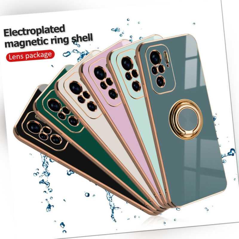 Für Xiaomi Redmi Note 10 4G & 10 Pro Handyhülle Schutzhülle Handy Tasche Hülle