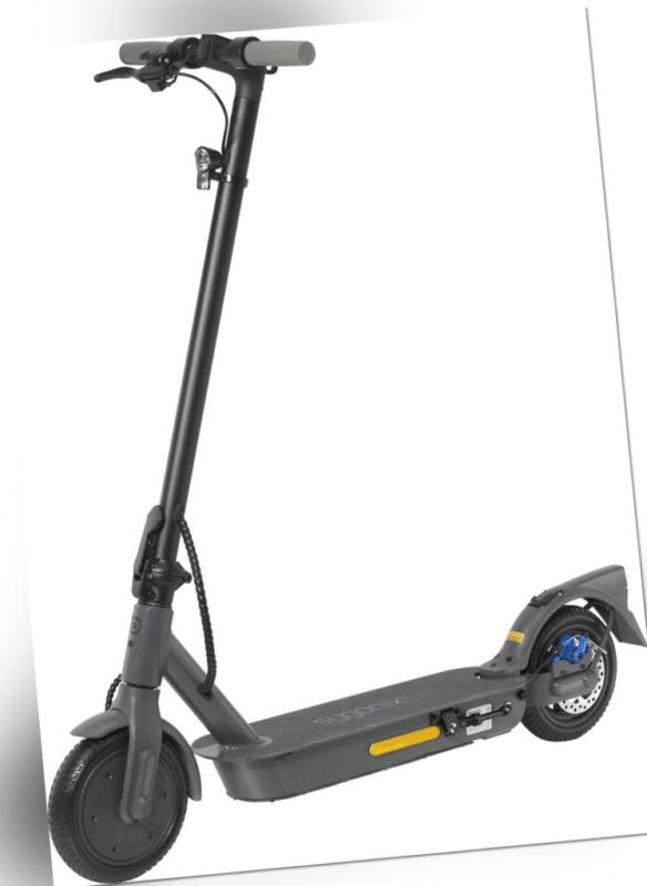 Sygonix ePF-1 E-Scooter Schwarz-Grau Li-Ion 36V 10Ah deutsche Straßenzulassung