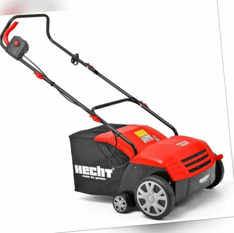 HECHT 1321 - Elektro Vertikutierer Rasenlüfter