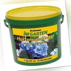 Hortensien Dünger + Blaufärbemittel Beckmann 900 g Eimer