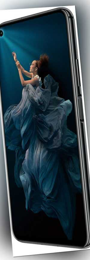 "Honor 20 DualSim midnight schwarz 128GB LTE Android Smartphone 6,26"" 48 MPX"