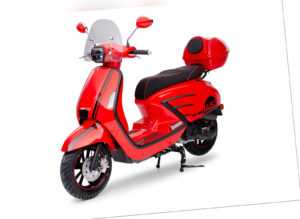 1453 GT50 Rot 49ccm Retro Motorroller Roller Moped
