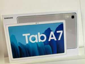Samsung Galaxy Tab A7 32GB, Wi-Fi, 10,4 Zoll 3GB Ram - Silber Neu inkl MwSt