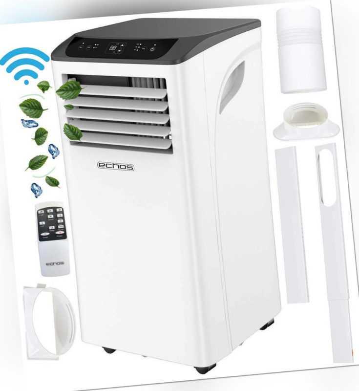 Klimaanlage mit WiFi 9000 BTU Klima Anlage Aircooler Klimagerät Air Cooler