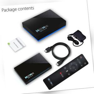 Android 11.0 H96 MAX RK3566 8K TV Box 8GB+64GB Sprachsteuerung 5G WIFI Streamer