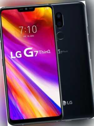 LG G7 ThinQ (G710EM) black / schwarz Neuwertig vom Händler