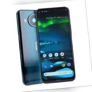 Nokia 8.3 TA-1243 5G Dual-SIM 64GB Blau Smartphone Kundenretoure...