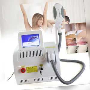 IPL Haarentfernungsmaschine Permanente Laser Epilierer Enthaarung 480-640nm 220V
