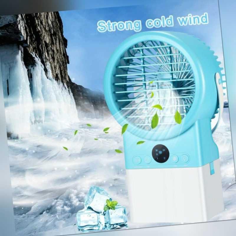 Mini Luftkühler Mobile Klimageräte Wasserkühlung Verdunstungskühler Air Cooler