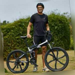 Falten E-Bike 26 Zoll Elektrofahrrad Mountainbike Klapprad 250W Shimano Pedelec