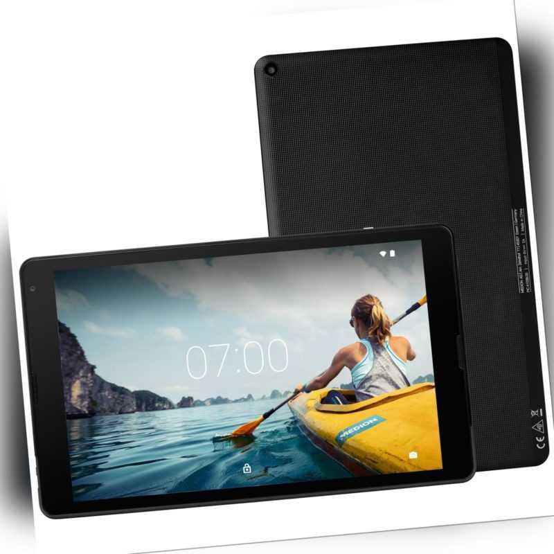 """MEDION LIFETAB E10412 Tablet PC 25,7cm/10,1"""" Android 7.0 32GB 2GB 2MP Bluetooth"""