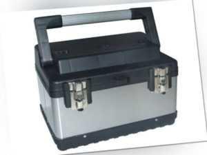 Perel  werkzeugkoffer 37 x 27 x 22,5 cm Edelstahl silber/schwarz