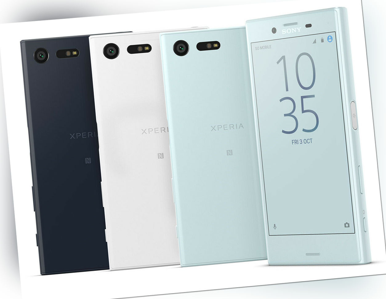 Sony Xperia X Compact 32GB Android Smartphone 4,6 Zoll 23 MP Kamera Gebraucht