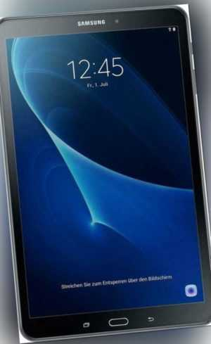 Samsung Galaxy Tab A 10.1 (2016) LTE T585 16GB schwarz Tablet - AKZEPTABEL!!!!