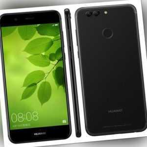 Huawei Nova 2 Plus BAC-L21 Schwarz Dual Sim LTE 64GB/4GB Android...