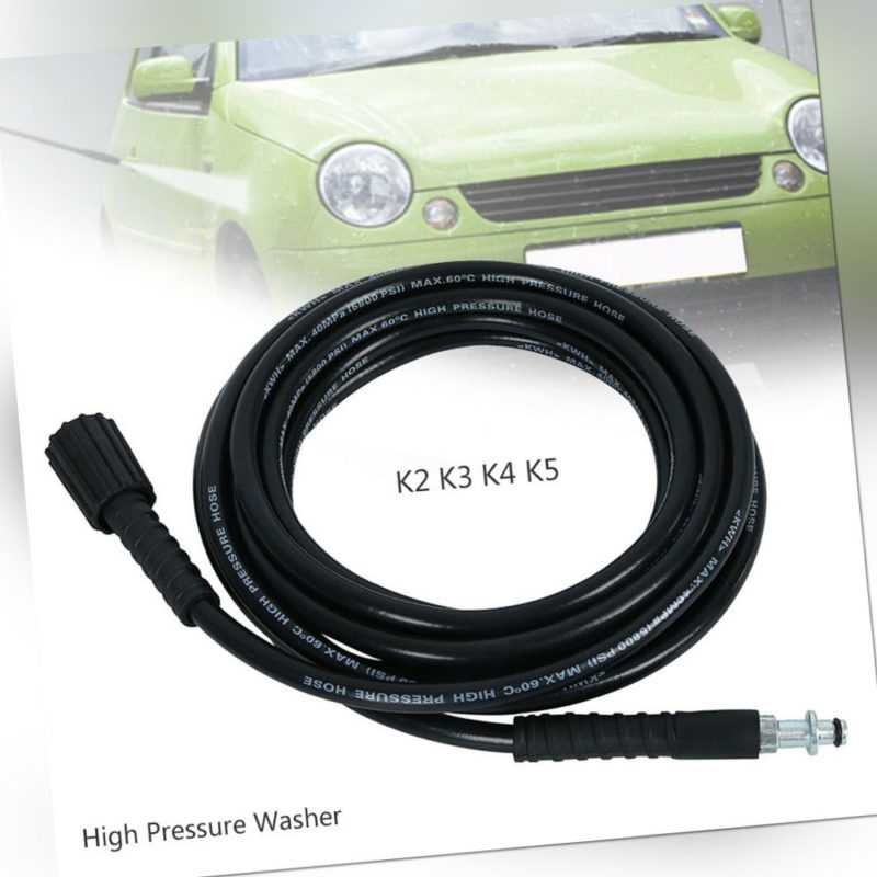 6/10M 160/400bar M22 Hochdruckschlauch Ersatzschlauch Für Kärcher K2/K3/K4/K5.