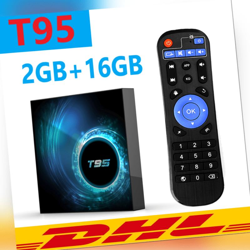 2+16GB Android 10.0 TV Box 6K 4K QuadCore 2.4G WiFi 3D HDMI2.0 Media Player C1C6