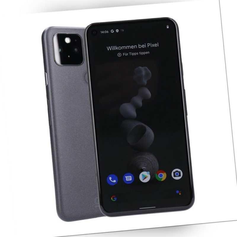 Google Pixel 5 128GB Just Black Smartphone geprüfte Gebrauchtware