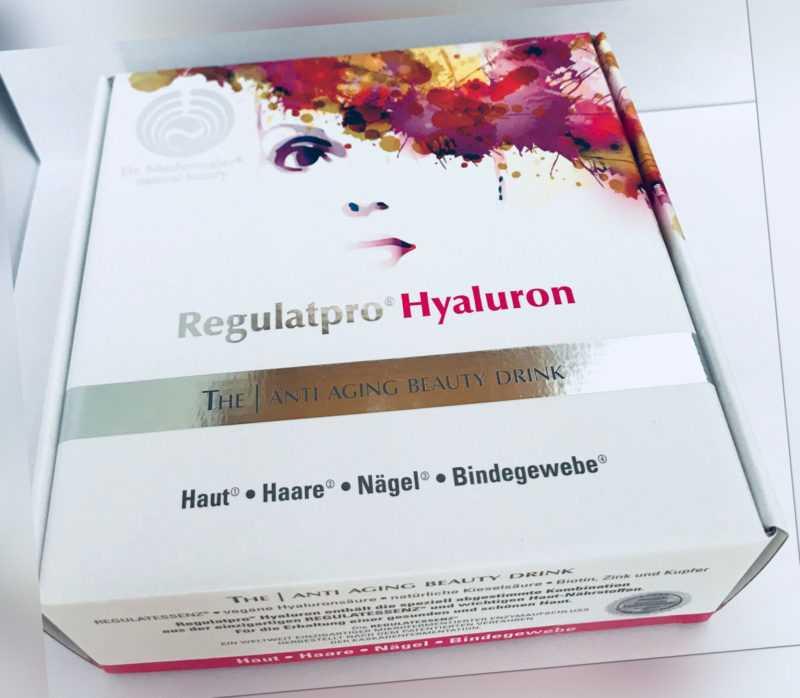2 x Dr. Niedermaier Regulatpro Hyaluron Anti Aging Drink + 6x 20ml Gratiszugabe
