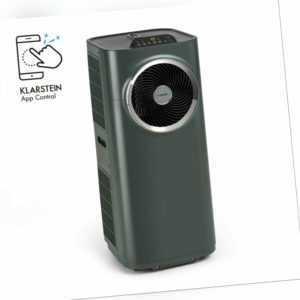 Klimaanlage Mobil Entfeuchter Ventilator Kühlung 12000 BTU WiFi App Anthrazit
