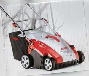 AL-KO Elektro-Vertikutierer Combi Care 36 E Comfort inkl. Fangkorb  NEU
